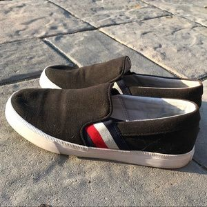 Tommy Hilfiger liman slip on casual shoes black